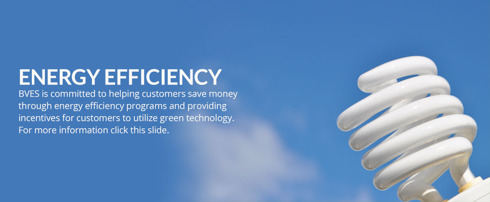 BVES is committed to helping customers save money through energy efficiency programs